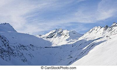 Ski resort Solden. Austria