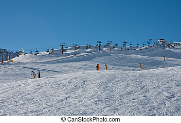 Ski resort  Solden. Austria