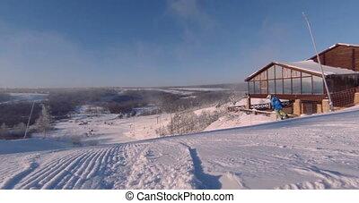 ski slope - View of the ski slope