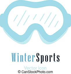 Ski sun glasses