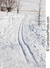 ski-track, neve