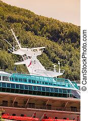 skib, closeup, cruise