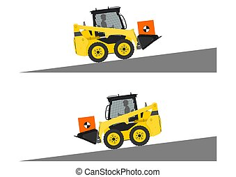 Skid steer loader safety tips.
