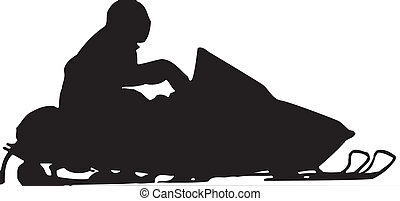 Skidoo Snowmobile Vector Clipart Design Illustration created...
