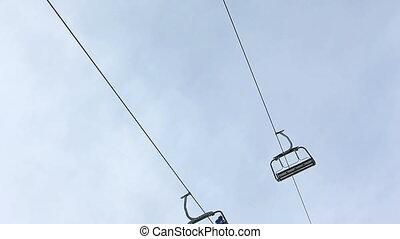 skiers transportation