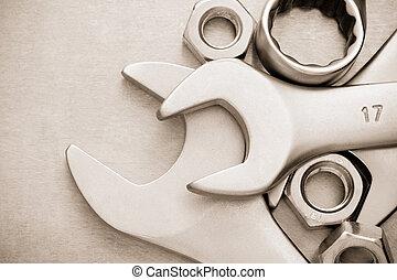 skiftnyckel, verktyg
