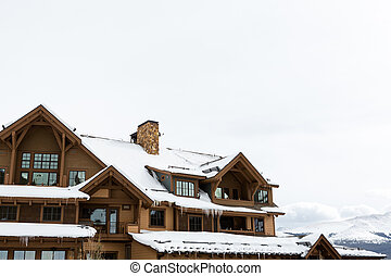 Skiing Lodge - Skiing lodge in Breckenridge, Colorado.