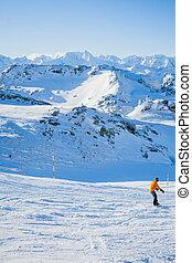 Skiing resort in Austria