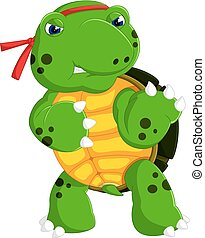 skildpadde, cute