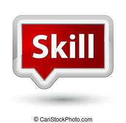 Skill prime red banner button