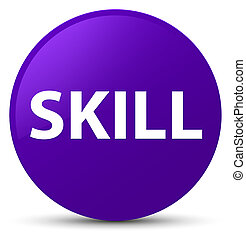 Skill purple round button