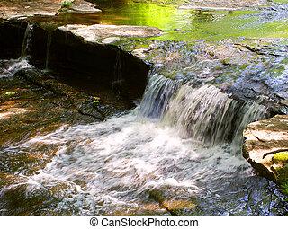 Skillet Creek Cascades in Wisconsin