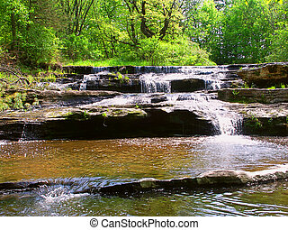 Skillet Creek Cascades in Wisconsin