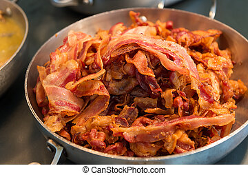 Skillet with Bacon