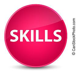 Skills elegant pink round button