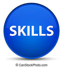 Skills special blue round button