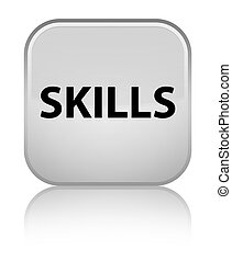 Skills special white square button