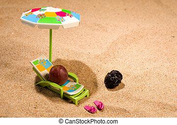 Skin cancer prevention - Be careful when sunbathing, a skin...