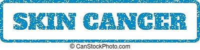 Skin Cancer Rubber Stamp