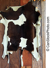 Skin cow