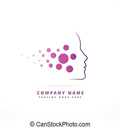 skin face company symbol design illustration