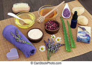 skincare, erbe medicinali