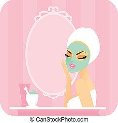 skincare, series-mask