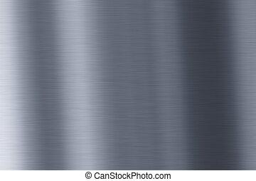 skinnende, metal, baggrund