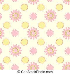 Skintones floral pattern