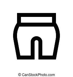 skirt  pixel perfect icon