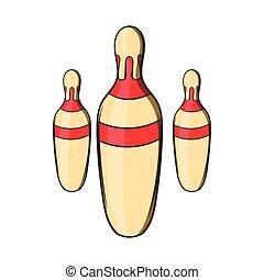 Skittles icon, cartoon style