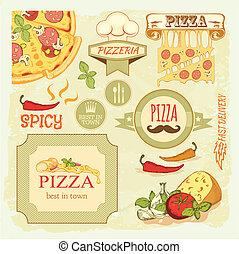 skiva, vox, pizza