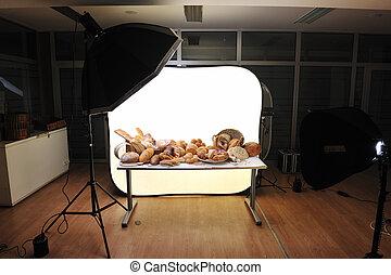 skjutning, ateljé fotografi