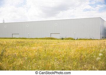 skladiště, budova