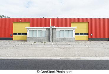 skladiště, průmyslový