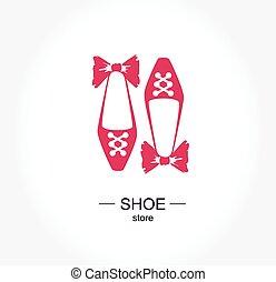 sklep, butik, pracownia, bucik, logo, zaopatrywać