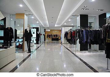 sklep, odzież