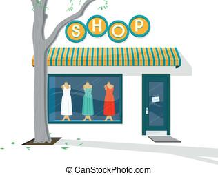 sklep, powierzchowność