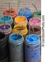 sklep, stary, barwny, skóra, souk, medyna, fez, marokańczyk,...