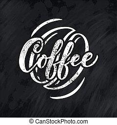 sklep, tytuł, kawa, graficzny, styl życia, nazwa, restauracja, menu., typografia, logotype, projektować, kaligrafia, style., promotion.