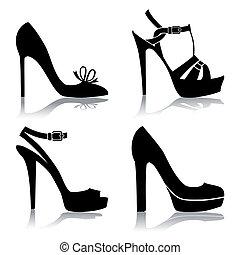 sko, samling