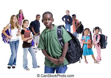 skole kids, diversity