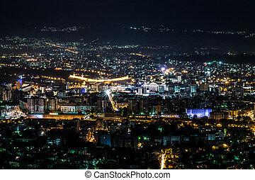 Skopje city center - panorama