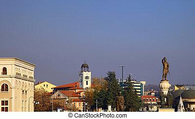 Skopje, Macedonia.