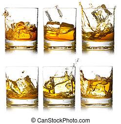 skotsk whisky glas