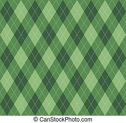 skotske, mønster, nytår, argyle., jul, bur
