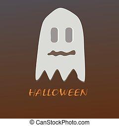 skrämmande, gengångare, halloween