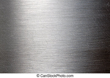 skrapet, metall, struktur
