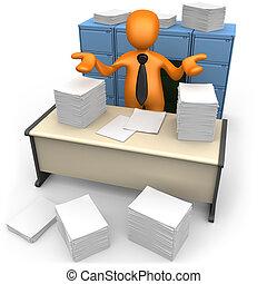 skrivbordsarbete