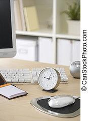 skrivebord, image